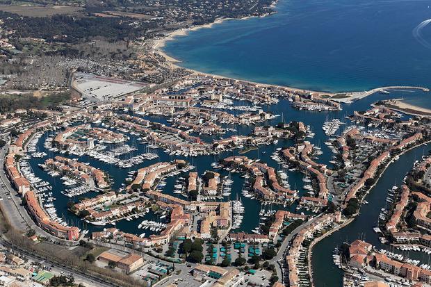 Vista aérea de Port Grimaud