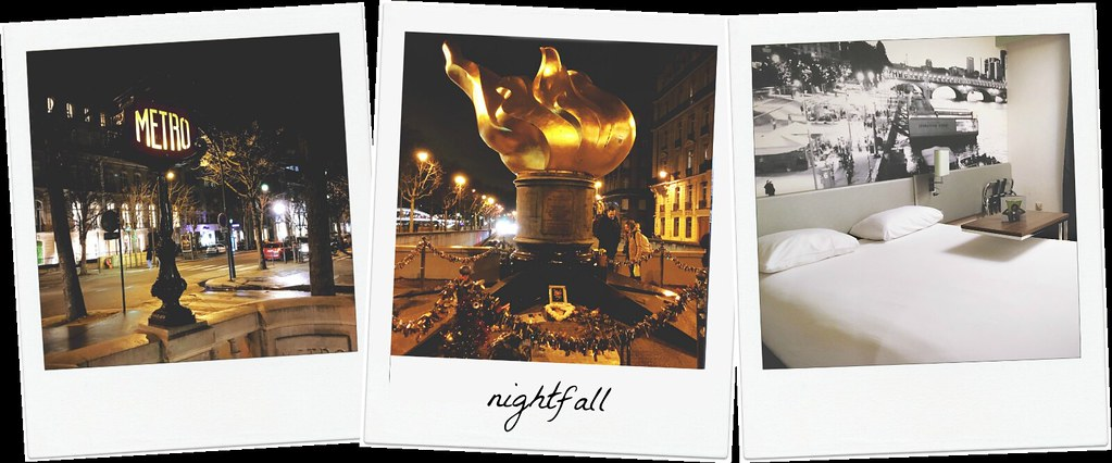 The Paris Diaries - nightfall | via It's Travel O'Clock
