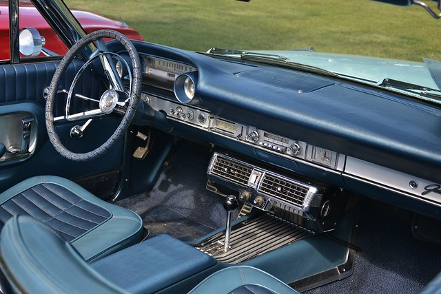 1964 ford galaxie 500xl convertible interior flickr photo sharing