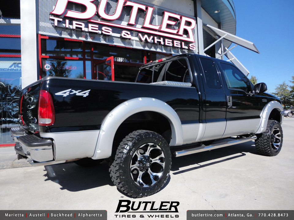 R And R Tires >> Ford F350 with 20in Fuel Dune Wheels   Additional Picture ...