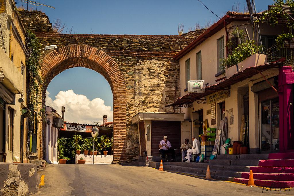 Ano Poli ( Upper Town ) , Thessaloniki @ Greece  Sakis ...