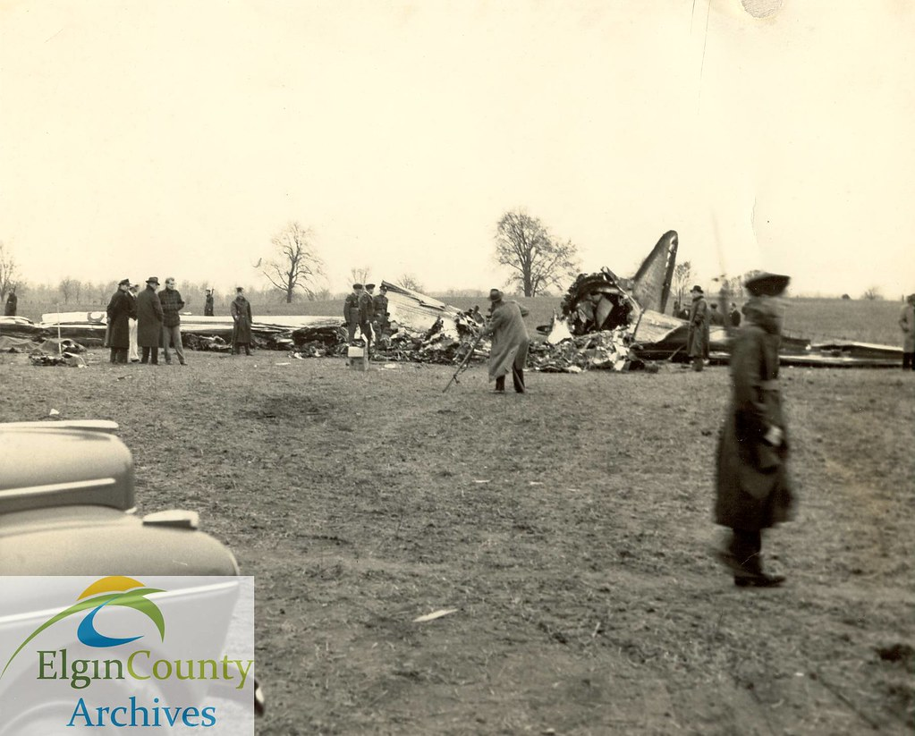 American Airlines Crash Shedden Ontario 1941 Title