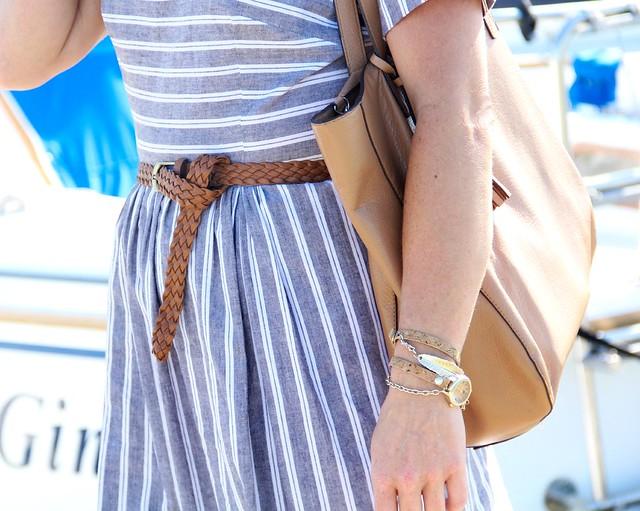 dockside midi dress modest summer dress via kristina j blog