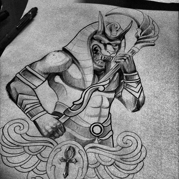Egito Tattoo Design