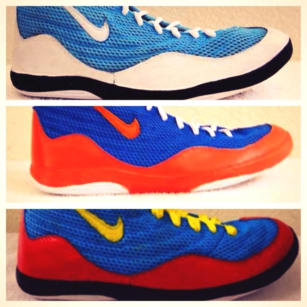 customize asics wrestling shoes