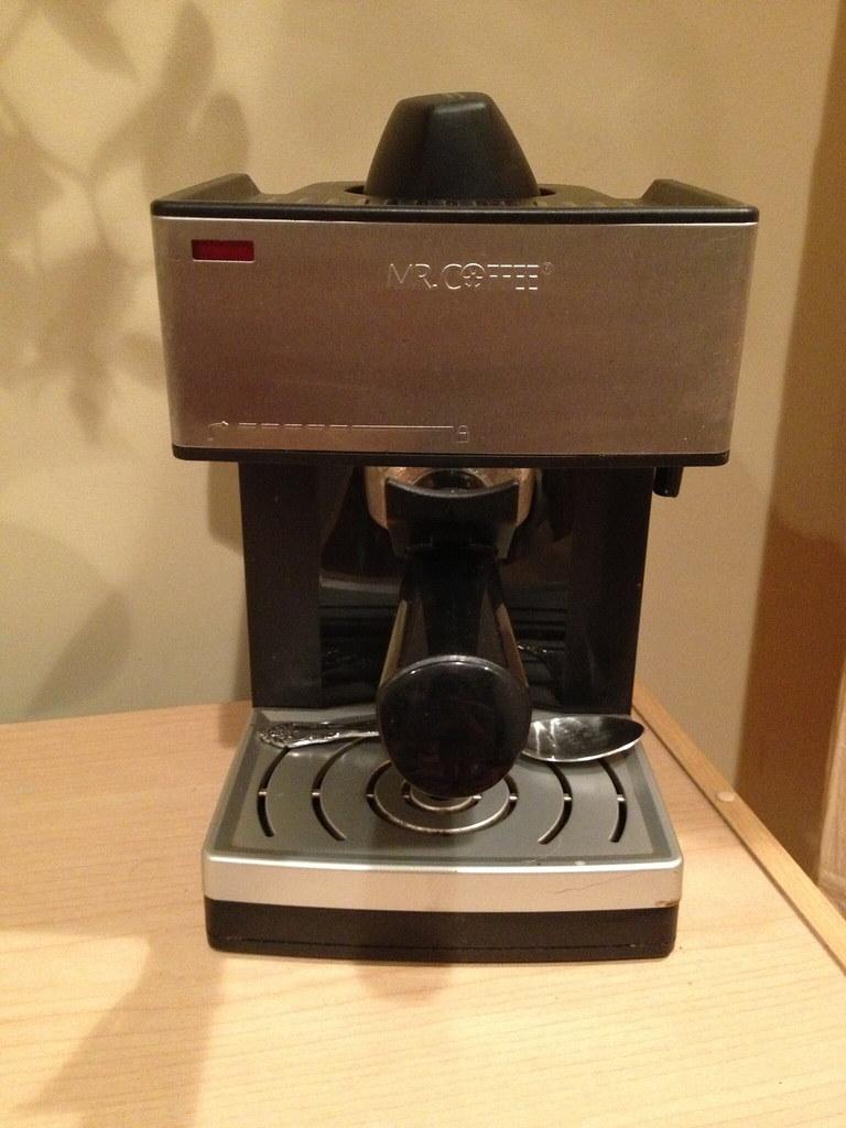Old Mr Coffee Maker : Mr. Coffee Espresso Maker USD 5 - 1 year old - still works, I? Flickr