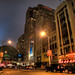 The Conrad Hilton Hotel in downtown Indianapolis, Indiana