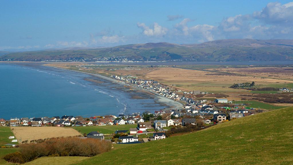 Borth Ceredigion West Wales Y Gwyllhinterland Was Partly