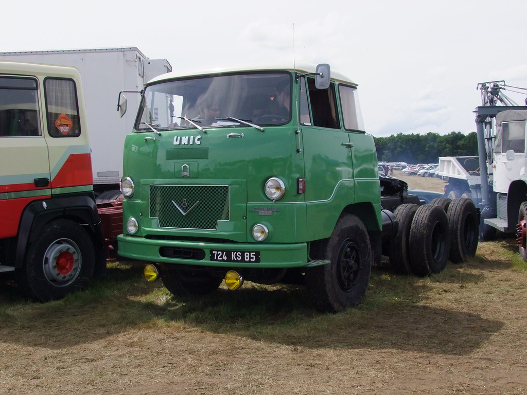 Unic Izoard T 270 A V8 Tracteur 6x4 Chrispit1955 Flickr