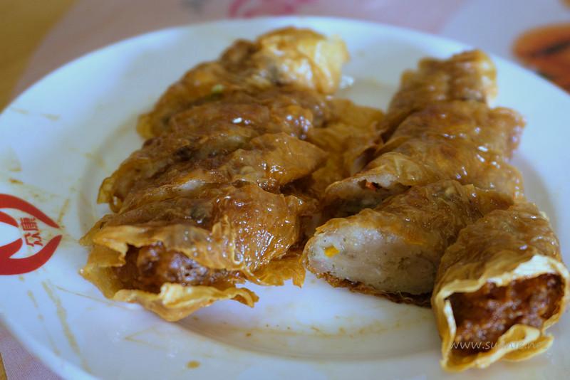 Soon Lai Batu Pahat - deep-fried fish cakes