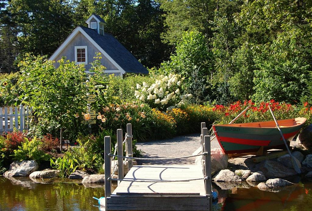 Coastal Maine Botanical Gardens Boothbay We Got Here Aro Flickr
