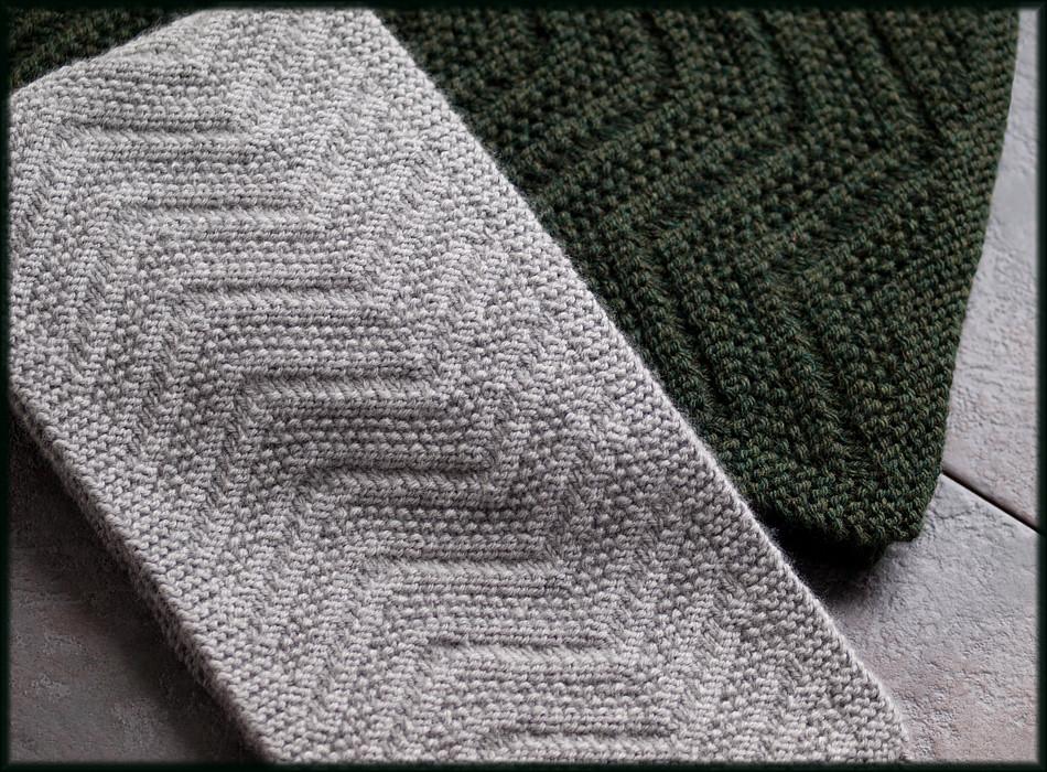 Beckenham Scarf Knitting Pattern Man S Reversible