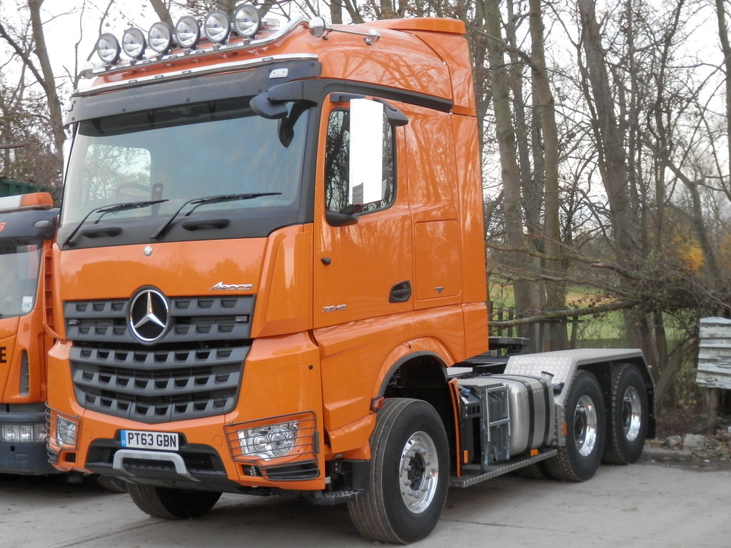 Gbn Services Brand New Mercedes Benz Arocs Tractor Unit