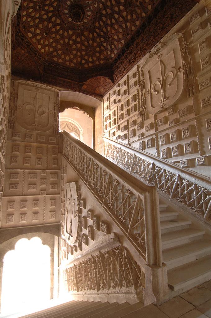 Museo Nacional de Escultura. Escalera del Colegio de San G…  Flickr