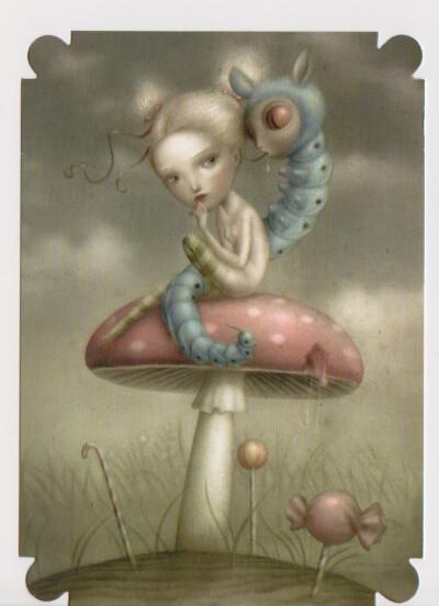 Alice in Wonderland Nicoletta Ceccoli | mint_candy | Flickr