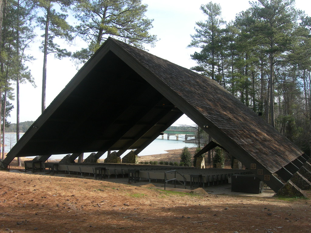 The Church In The Pines Located On Lake Martin In The