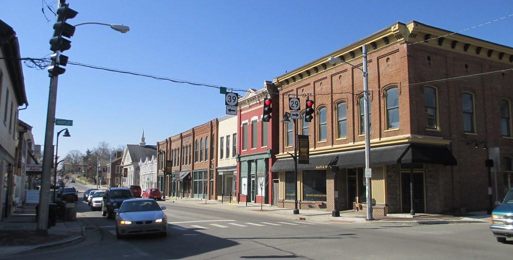 Downtown Nicholasville Kentucky Nicholasville Is