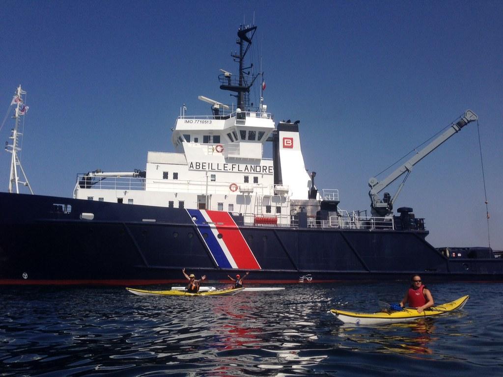 Abeille Flandre et Kayaks  CNPRS