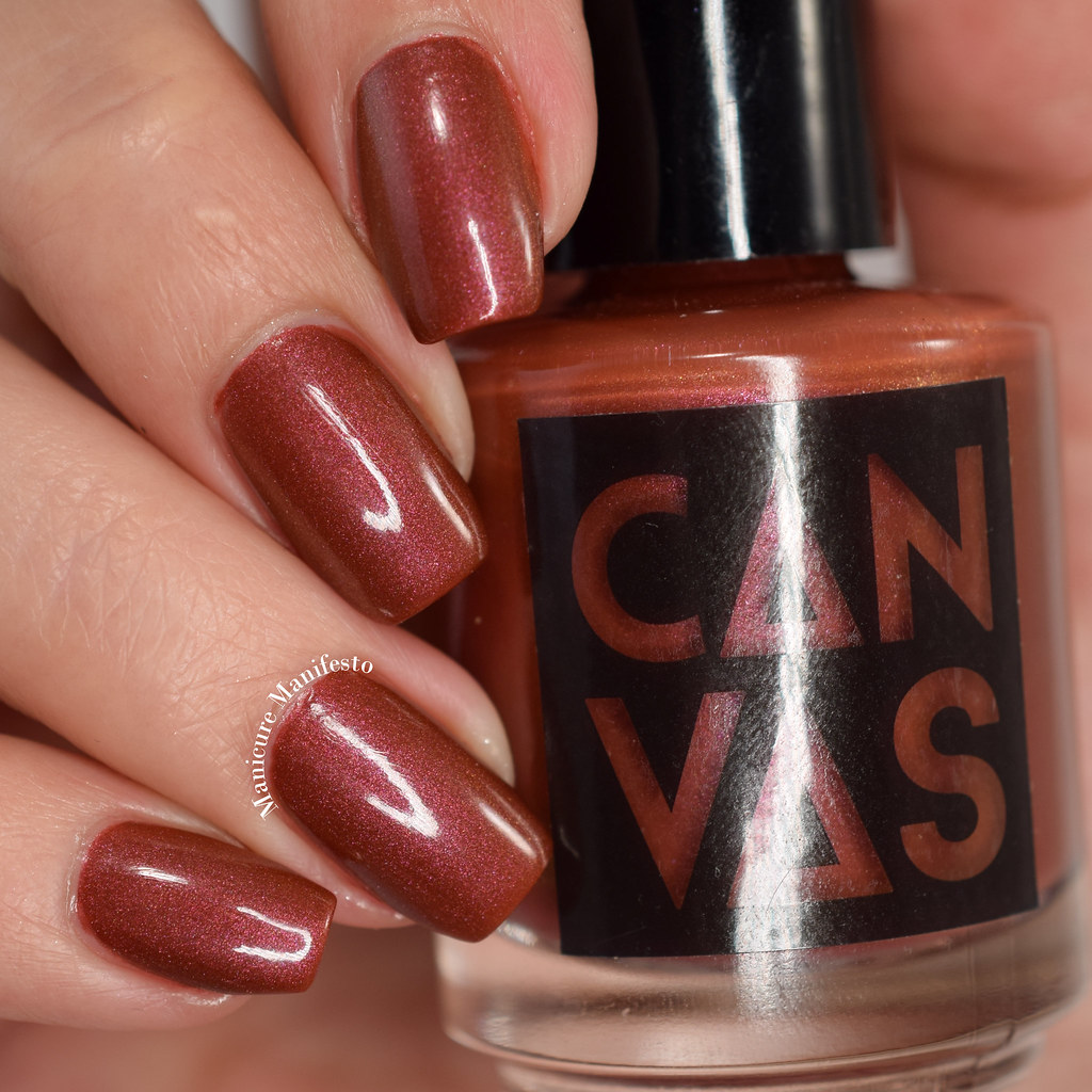 Canvas Lacquer stranger things swatch