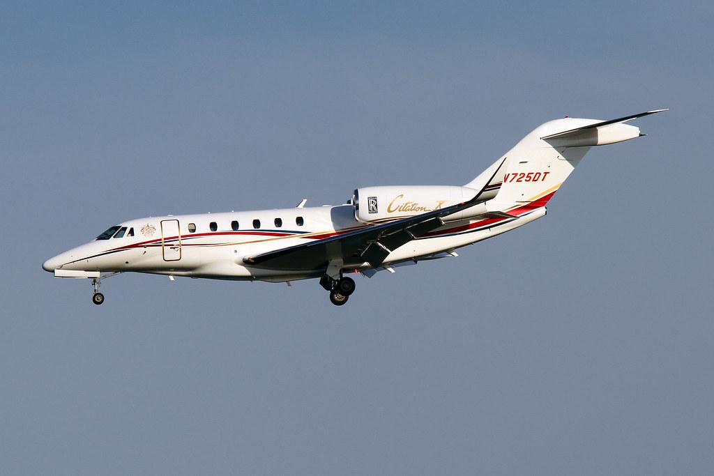 N725DT | Donald Trump Cessna 750 Citation X DCA 10/28/13 | Bizjets1 ...