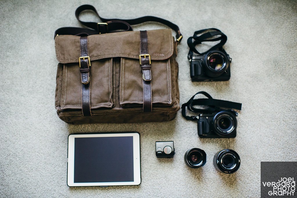 DIY Camera Bag | Fossil Messenger bag with photo inserts ...