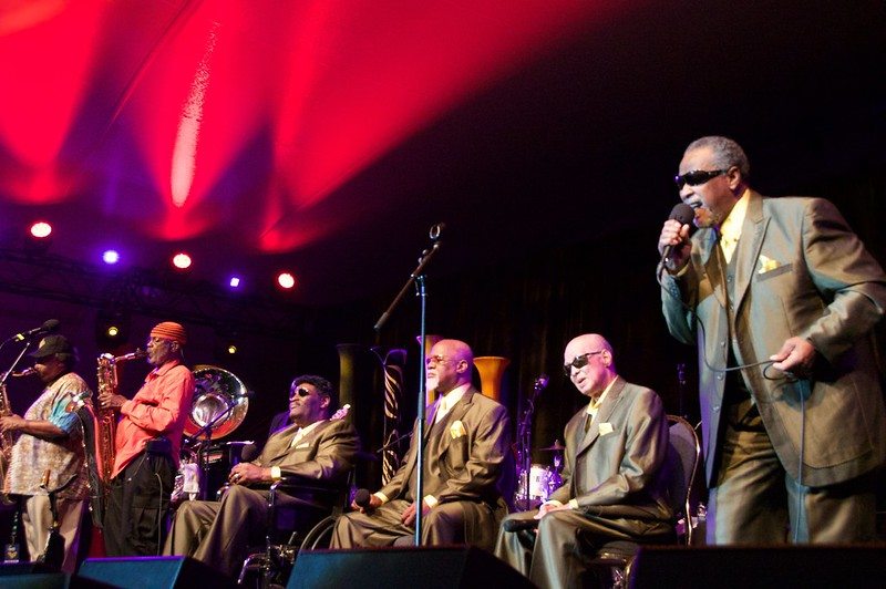 Dirty Dozen Brass Band with Blind Boys of Alabama at Ottawa Jazzfest