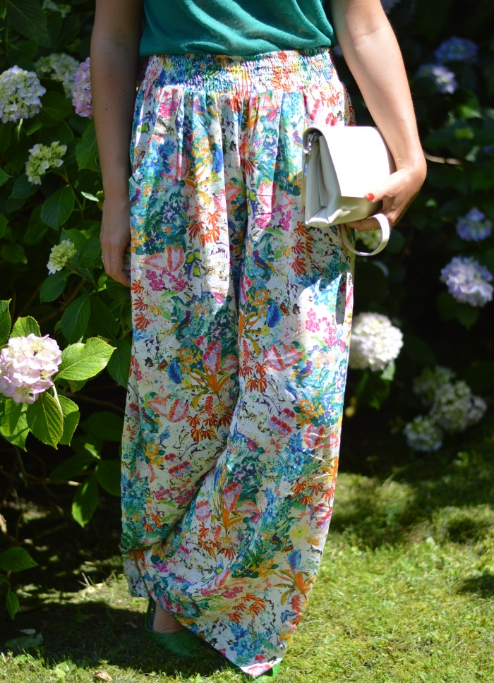 pantaloni palazzo, Zara, wildflower girl, ortensie, fashion blog (28)