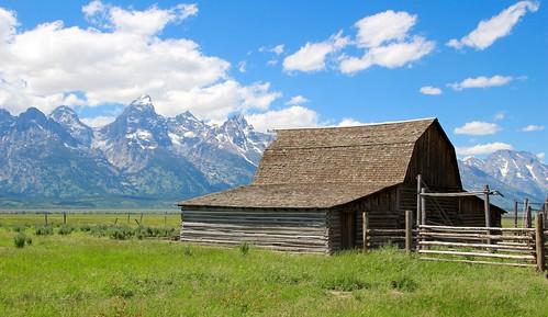 Old barn on Mormon Row