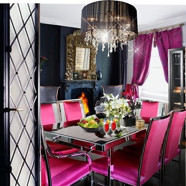High Quality #pink #hotpink #diningroom #dining #table U2026 | Flickr