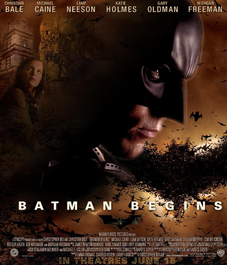 batman begins movie poster movie poster remake