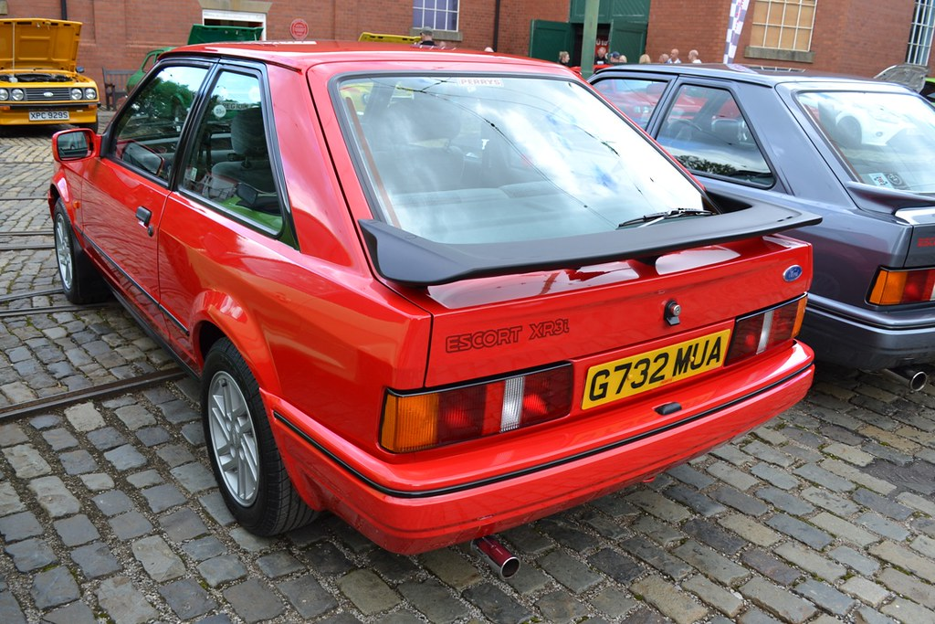 1990 Ford Escort Mark IV XR3i � G732 MUA | Flickr - Photo Sharing!