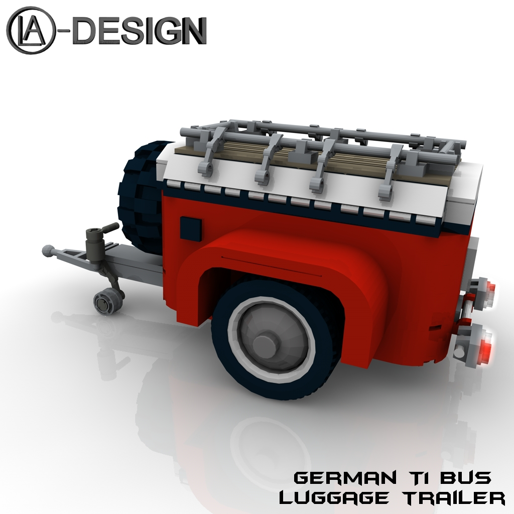 lego t1 bus vw anh nger 10220 5 the custom camper. Black Bedroom Furniture Sets. Home Design Ideas