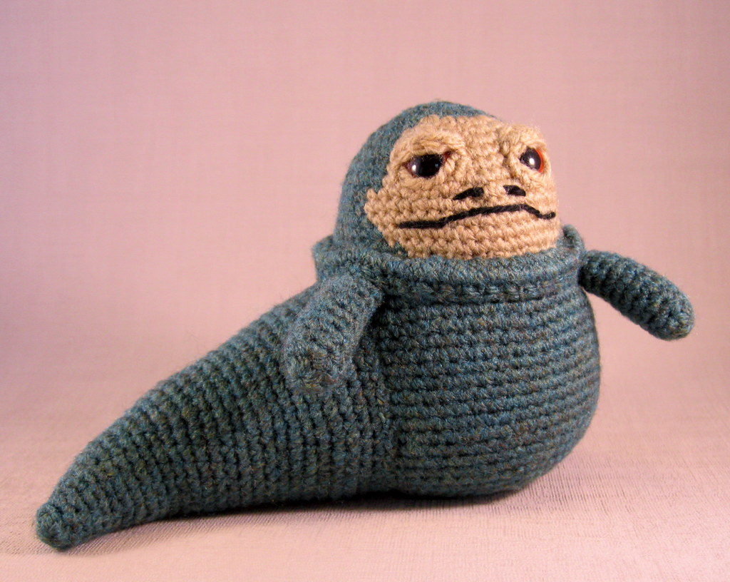 Jabba the Hutt | Star Wars crochet amigurumi pattern. www