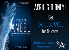 Evolution: SAGE by S.A. Huchton Cover Reveal & Excerpt!