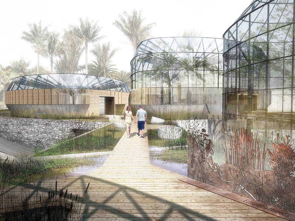 Primer puesto tropicario jard n botanico de bogot flickr for Arquitectura de jardines