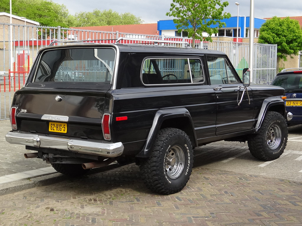 1979 Jeep Cherokee Chief The First Generation Of The
