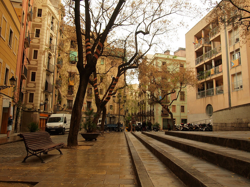 Barcelona's El Born neighborhood