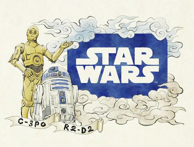 Aomori Nebuta Festival - Star Wars Floats Design