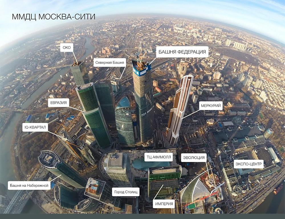 Башня ОКО Москва-Сити