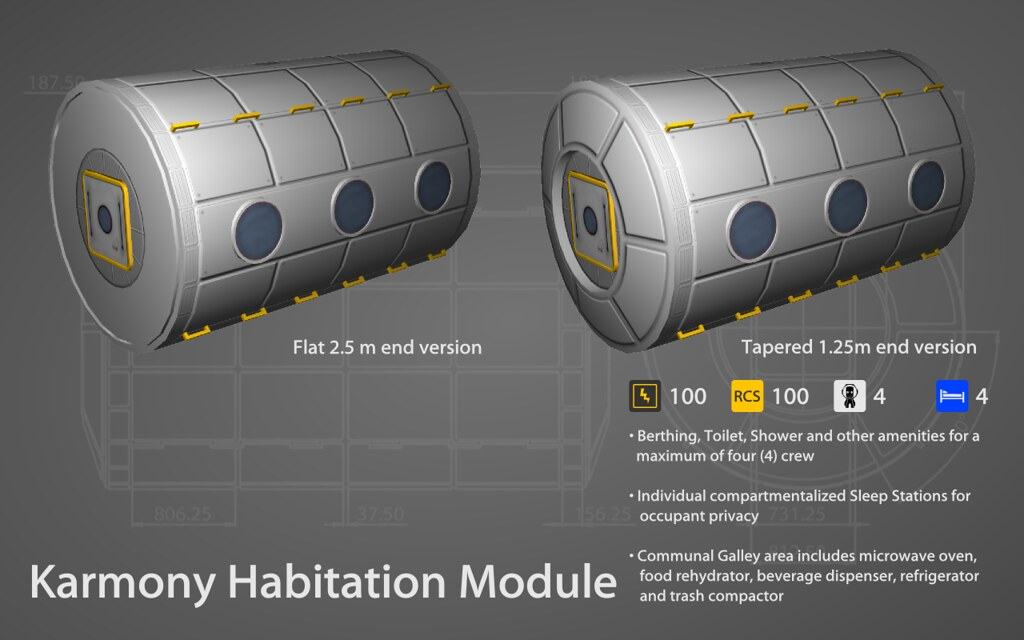 Habitation Module Eve Karmony Habitation Module