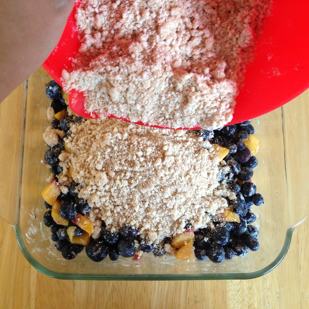 Peach And Blueberry Cobbler With Cake Mix
