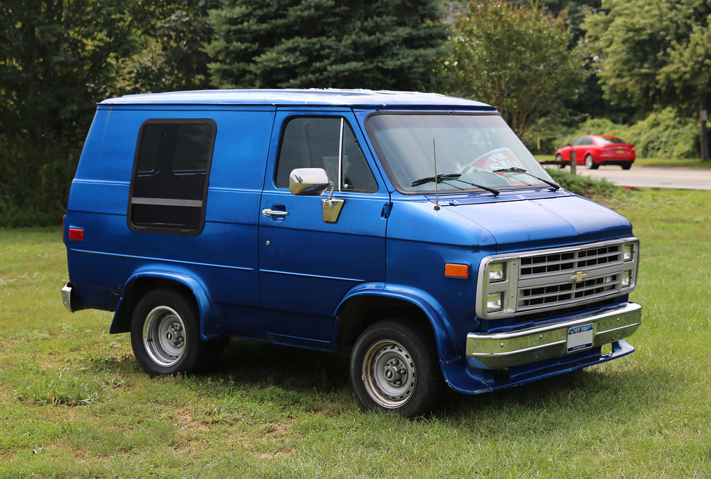 not a 39 shopchop this 1988 chevrolet g20 van is a nice litt flickr. Black Bedroom Furniture Sets. Home Design Ideas