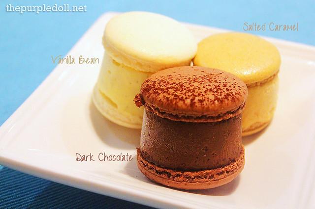 Chez Karine Macaron Ice Creams (P70 each)
