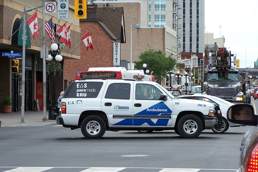 City Of Toronto Ems 999 Eru 19 Chevy Tahoe Suv Ottawa Ont