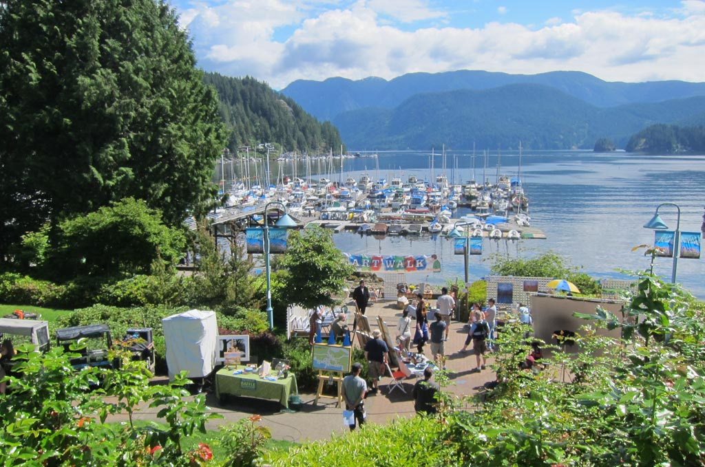 Art Walk in Deep Cove | Deep Cove North Vancouver BC ...