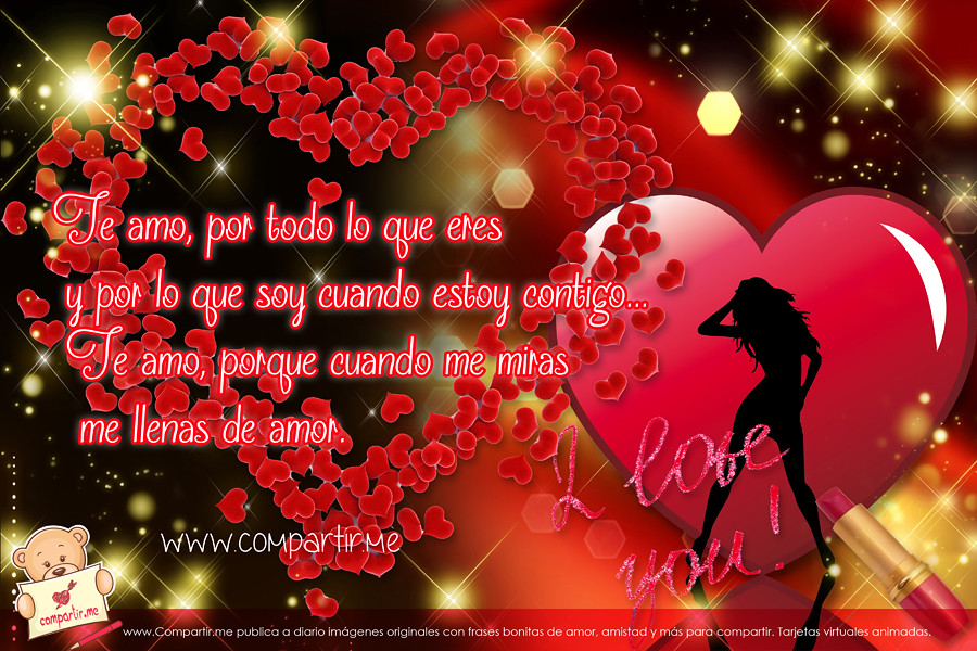 All Sizes Frases De Amor Wallpaper En Hd Con Corazones Y Frases