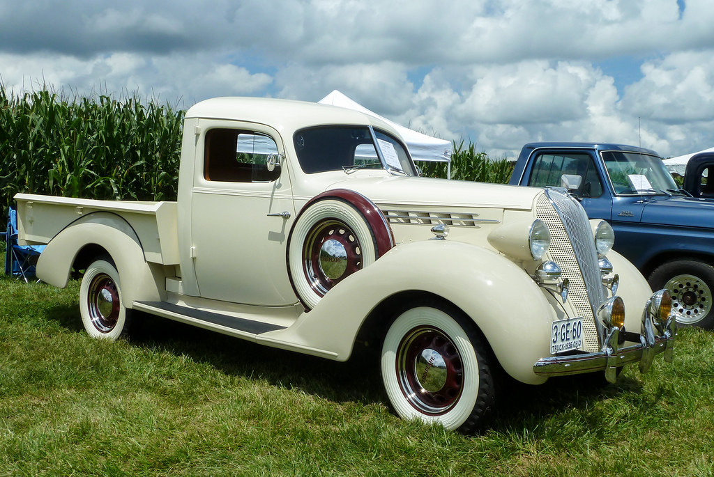 Scott White's 1936 Hudson Terraplane Cab Express Pickup Tr ...