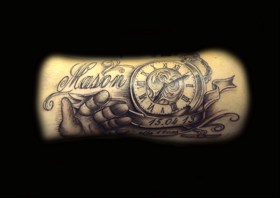 Tattoos on pinterest hourglass tattoo compass and pocket watch