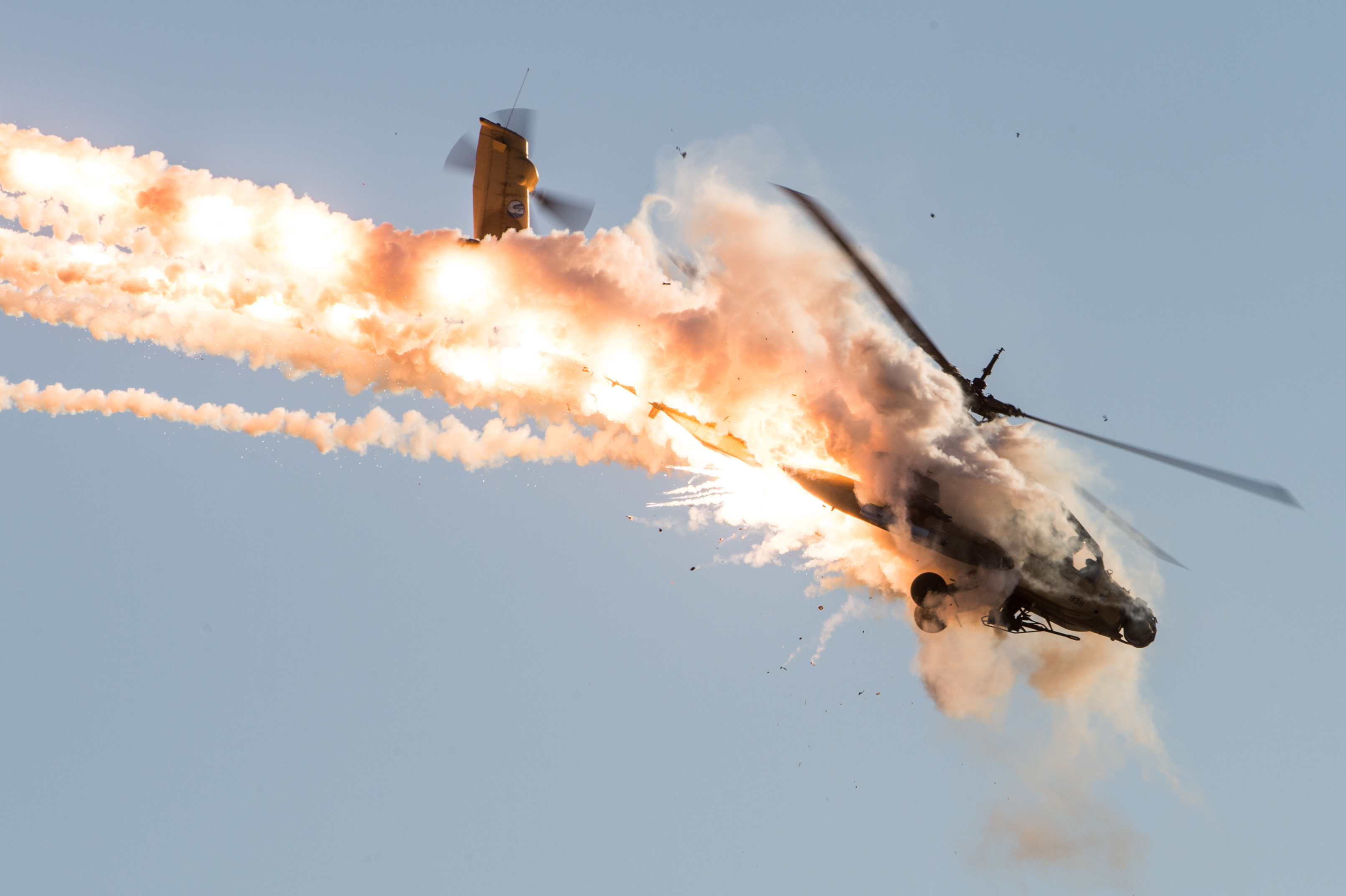 Apache Helicopter Missiles