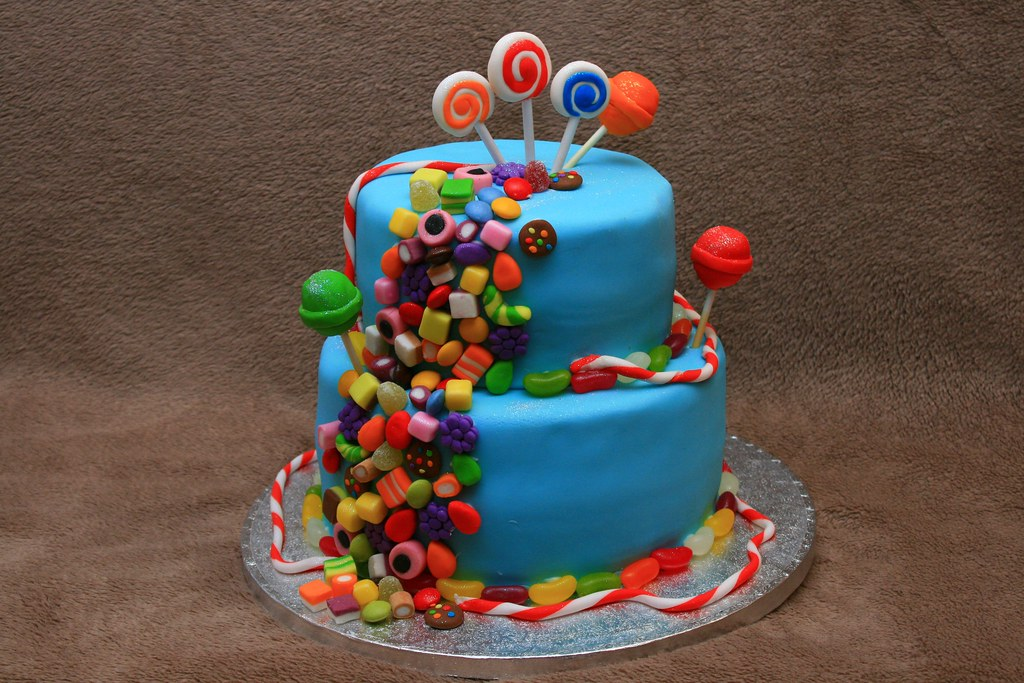 40th Candy Crush Cake Eldriva Flickr
